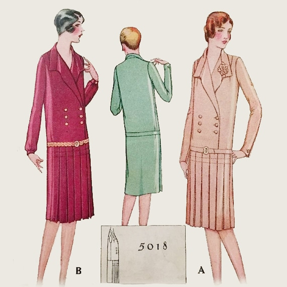 drop waist dress pattern 1920s wwwimgkidcom the