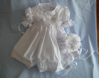 The.....Eternal Love Christening Gown  with Bonnet.......By The My Collection 2