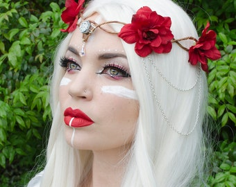 Red Elven Crown