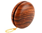 Classic Wooden Yo-Yo, Rosewood, gift for boys, kids toy