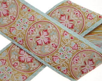 "Daydream Woven Jacquard Trim 1.5"" wide - Two, Five, or Ten Yards"