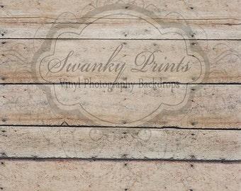 NEW 5ft x 9ft Vinyl Photography Backdrop / Oak Barn Floor