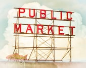 Seattle, Pike Place Market, Pacific Northwest, 8 x 10 Photography