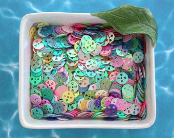 Sequins, Confetti, Sew-On Sequins, Multi Colored Sequins, Mixed Sequins, Party Confetti SQ-017