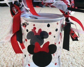 Minnie Mouse Paint Can/Storage