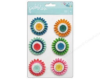50% Off - Pebbles Birthday Wishes Rosettes -- MSRP 4.00