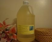 1/2 Gallon (64oz) 100% Pure Organic Lemongrass Massage Oil