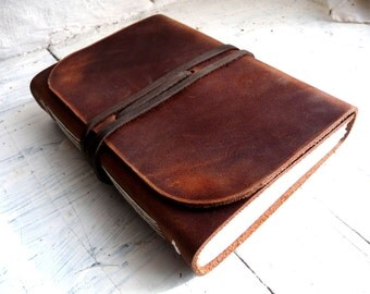 Leather Sketchbook. Leather Journal. Leather travel Journal