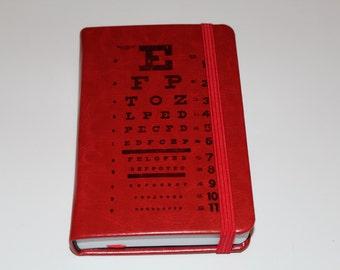 Eye Chart Journal Sketch Book Diary Planner