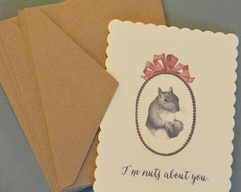 I'm Nuts About You   Cards