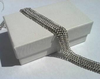 Sterling silver European  4in1 bracelet.