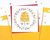 Cake Time! Set of 5 cards