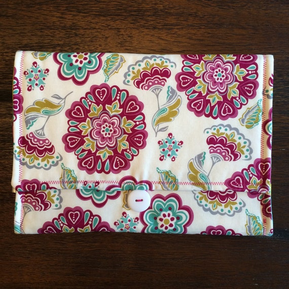 Travel Diaper Clutch Changing Pad, includes diapers & wipes!