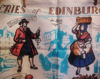 Scottish Scotland Linen Towel Unused Lockhart Kirkcaldy Edinburgh in 1803