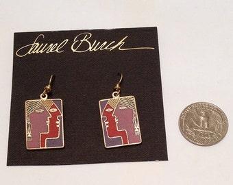 Laurel Burch Soul Mates earrings ( Deadstock/ New/ Never been used )