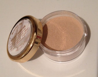 3A Medium Organic Mineral Foundation Makeup with argan oil