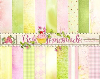 Pink Lemonade Paper Set