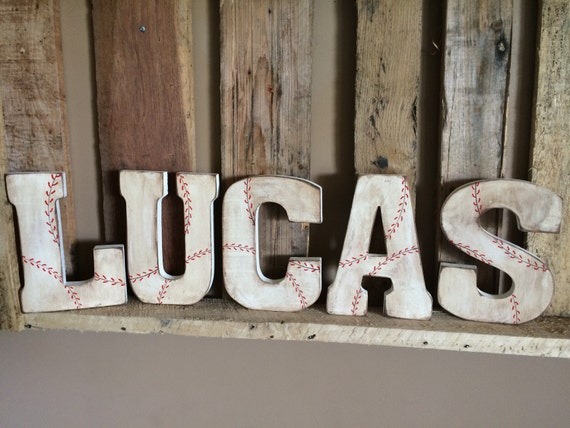 Vintage baseball name standing wood used baseball sign for 8x4 bathroom designs