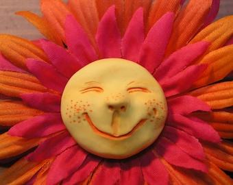 Flower Sculpture Magnet