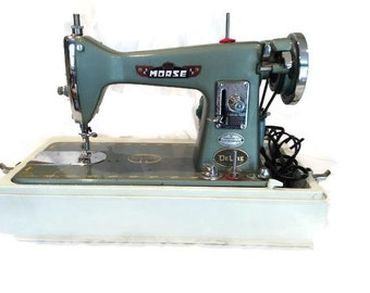 Vintage Morse 300 Deluxe Sewing Machine