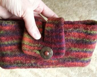 Felt Clutch Purse *Multicolored*