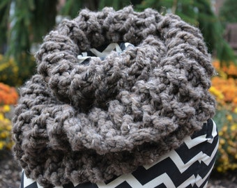 Outlander Cowl / Claire Knit Scarf Oversized Free US Shipping
