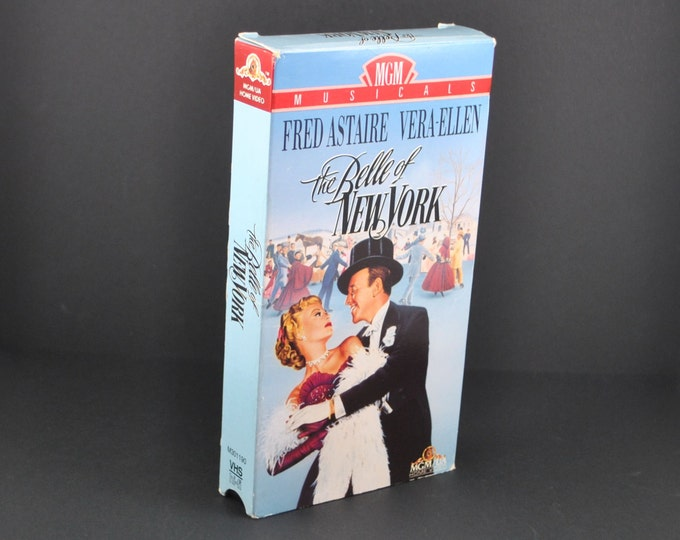 Vintage The Belle Of The Ball VHS Tape - 1952 Remake - Fred Astaire & Vera-Ellen - Movie - MGM - Musical - Dancing - VCR - Collectible