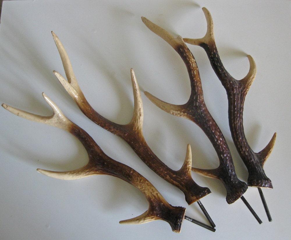 Coppia di corna finte corna di cervo francese d 39 epoca for Corna cervo