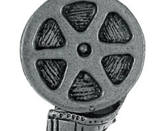 Film Reel Lapel Pin - CC326