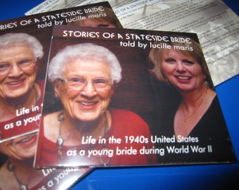 Stories of a Stateside Bride | Told by Lucille Maris | 2-Disc Audio Book | World War II