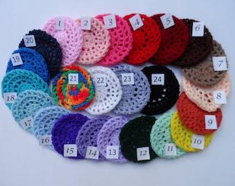 Small Bun Cover in 24 Colors, Dance Hair Net, Bun Holder, Flamenco, Gymnastics, Equestrian Show Bun Holder,