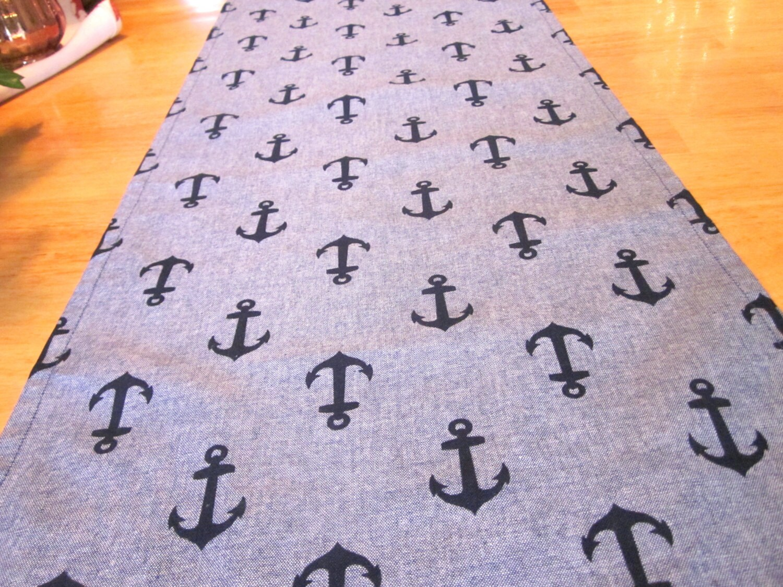 sale half price anchors bureau scarf blue table runner