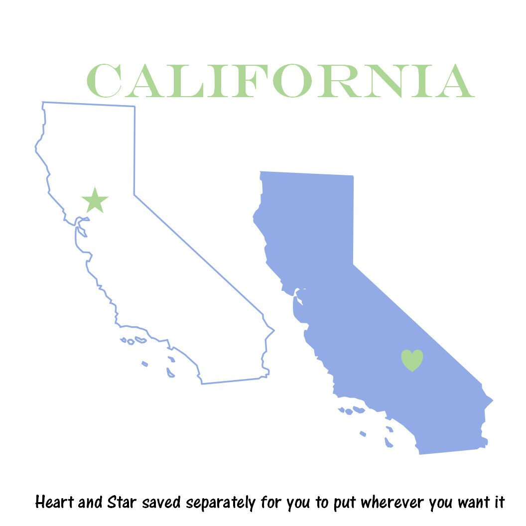 clip art california map - photo #30