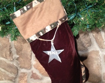 Military Christmas Stocking