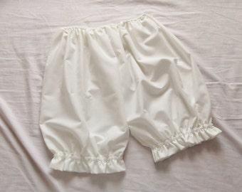 Cream Everday Comfy Baisc Lolita Fairy Kei Ruffle Bloomers Pumpkin Shorts