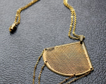 Chevron Tribal Necklace \\ Layering Necklace