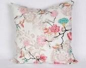 Pillow cover, Decorative pillow, Decorative Throw Pillow Covers , cotton pillow cover, Home Decor, Housewares, Flower.