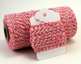 Valentine's Day Twine - Christmas Twine - Strawberry Twine - Peppermint Divine Twine - Red & Pink String - Party Favor Twine - Girl Favors