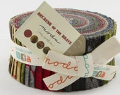 LAST ONE!!  Because of the Brave Jelly Roll by Moda Quilt Fabrics