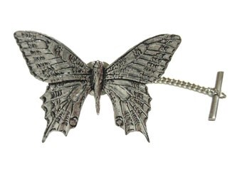 Very Large Butterfly Moth Tie Tack