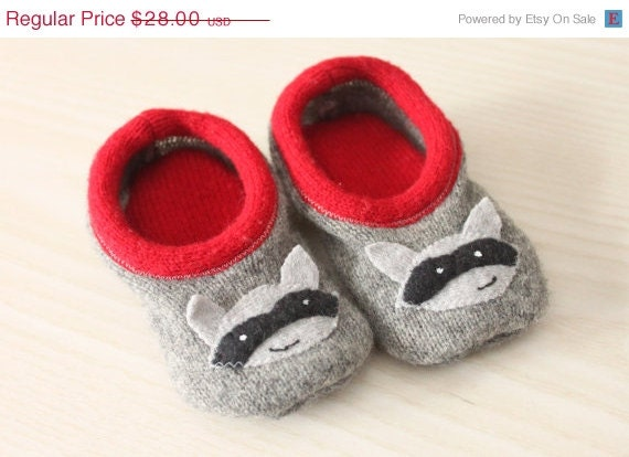 Raccoons Babies For Sale on Sale Grey Wool Baby
