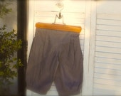 Size 7yrs to 12yrs Linen Smokey Grey Knicker Pants for  little boys, knicker pants for boys Size 7-9, size 10-12