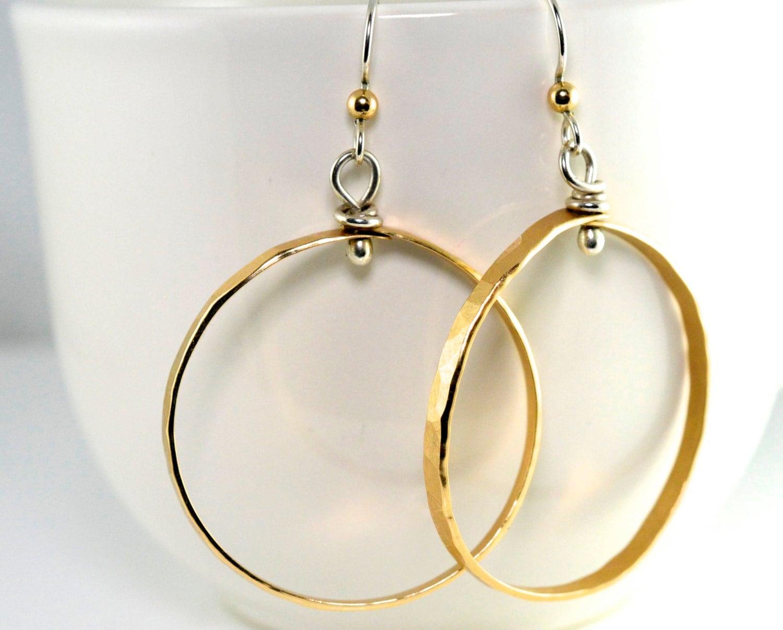 Earrings Diamond Cut Hoop