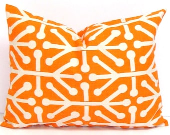 ORANGE PILLOW SALE.12x16 inch.Pillow Cover.Decorative Pillows.Housewares.Orange Lumbar Pillow.Home Decor Accessories.Home Decor.Cushion