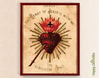 "Heart of Jesus 8""x10"" Print"