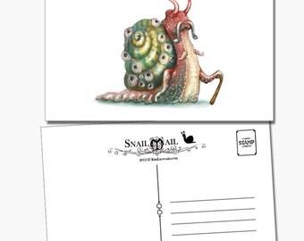 Snail Mail: Cthulhu Snail