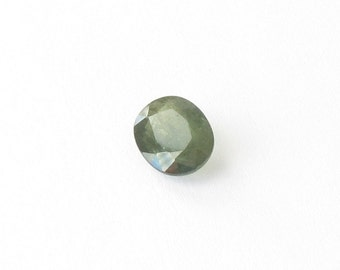 Genuine Green Sapphire, Oval Cut, 1.73 carat