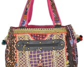Vintage Banjara Hand Bag Hobo Tote Ethnic Tribal Gypsy ID4094