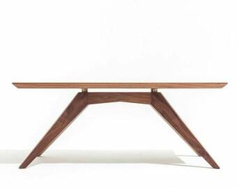 Modern Solid Walnut Coffee Table