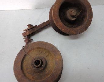 Old Farm Implement Rusty Gears, Pulleys, Wheels, Cogs, Industrial Steampunk